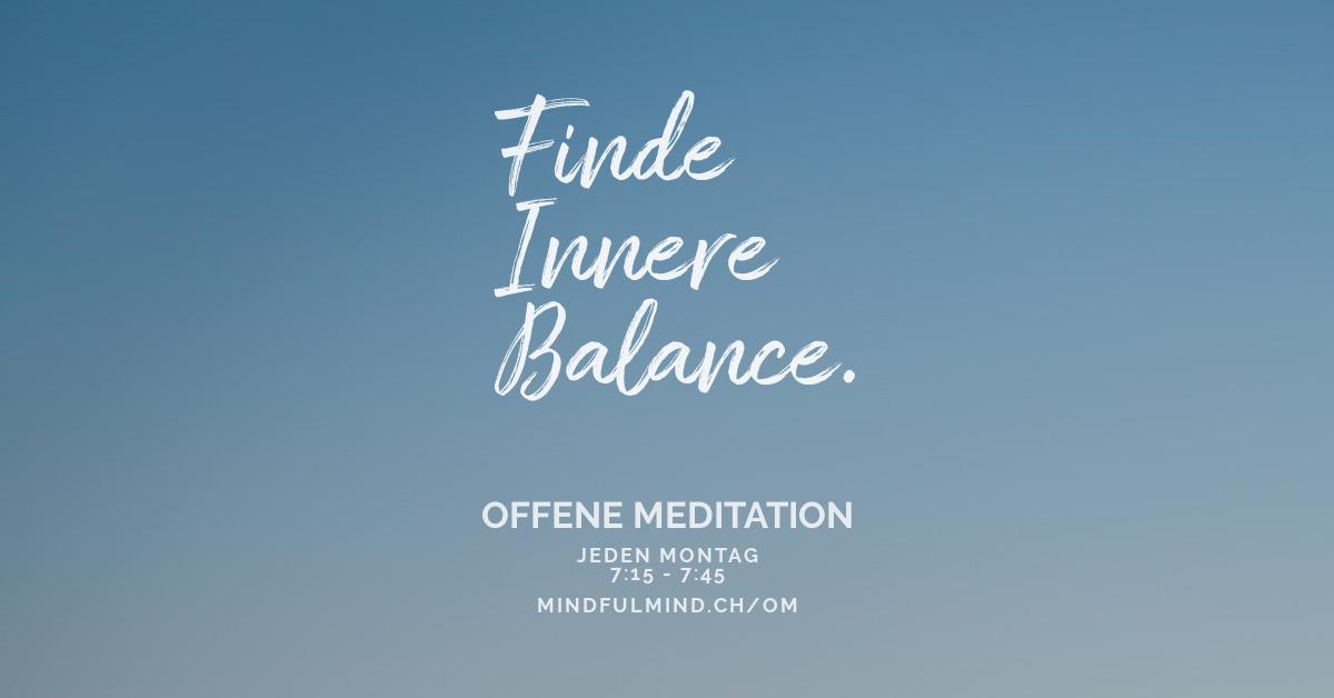 Meditation Weihnachten 2019.Offene Meditation Mindfulmind